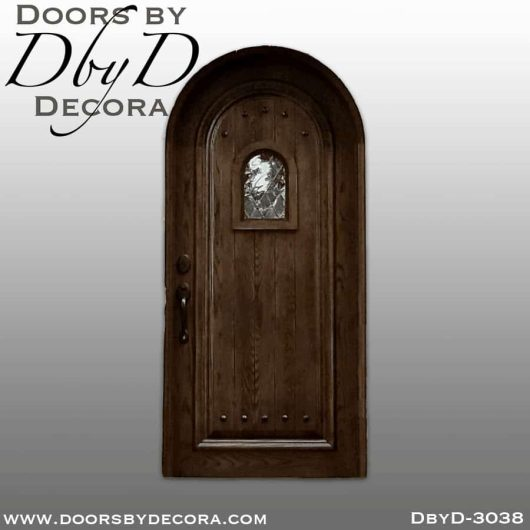 old world radius top door