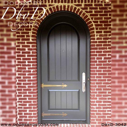 old world radius top door