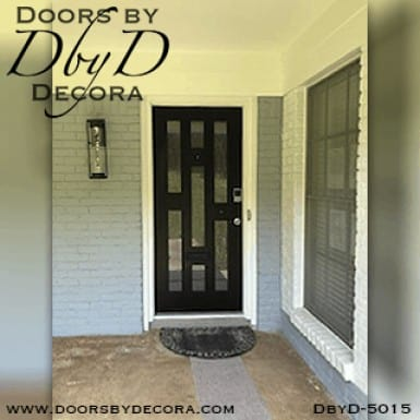 contemporary 7 lite door