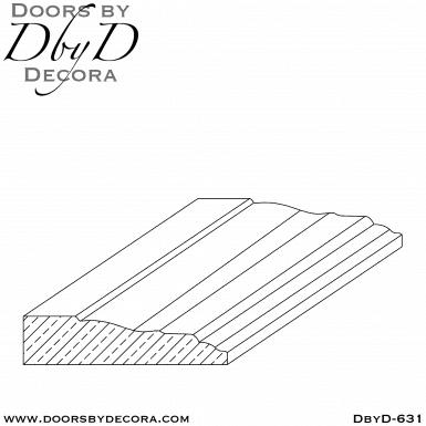DbyD-631 interior casing
