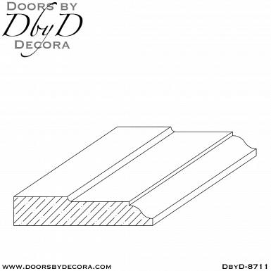 DbyD-8711 interior casing