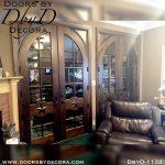 estate custom double french doors