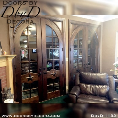 estate custom double french doors