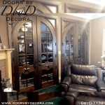 custom double french doors
