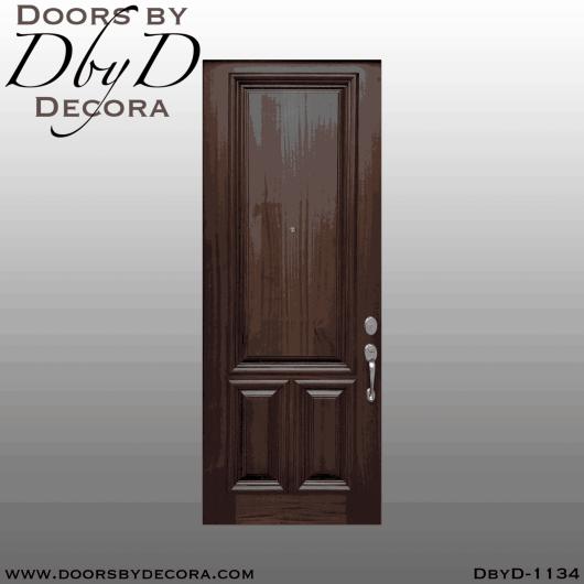 estate solid mahogany door
