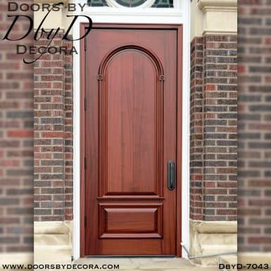 solid church door