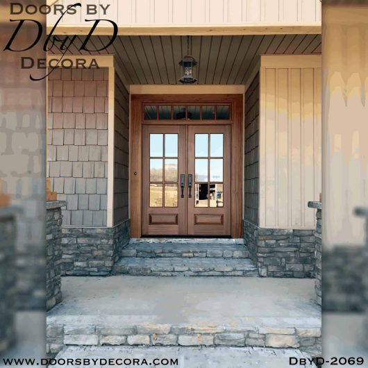 french country tdl doors and transom