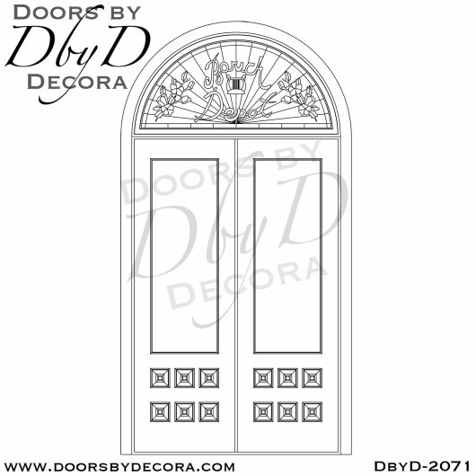 french country custom doors and glass