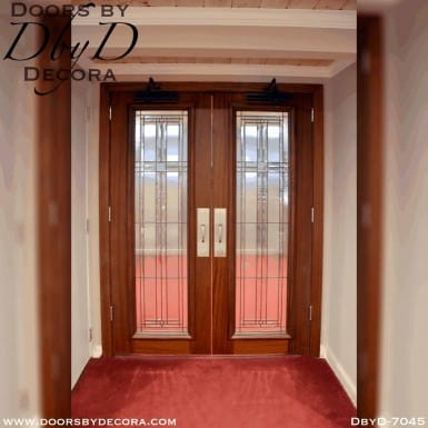 church interior glass doors