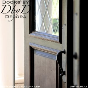 french country elliptical double doors