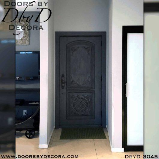 single old world style door