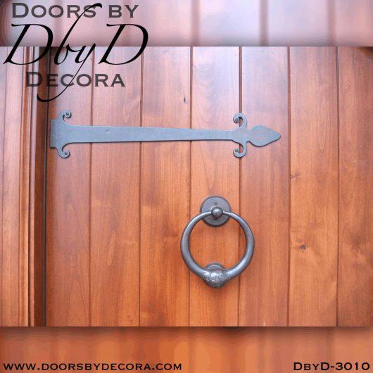 rustic plank door