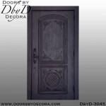 single rustic style door