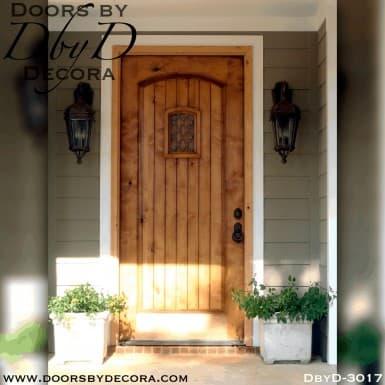rustic rectangle speakeasy door