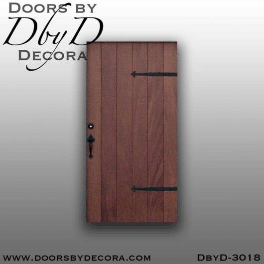 rustic simple plank door