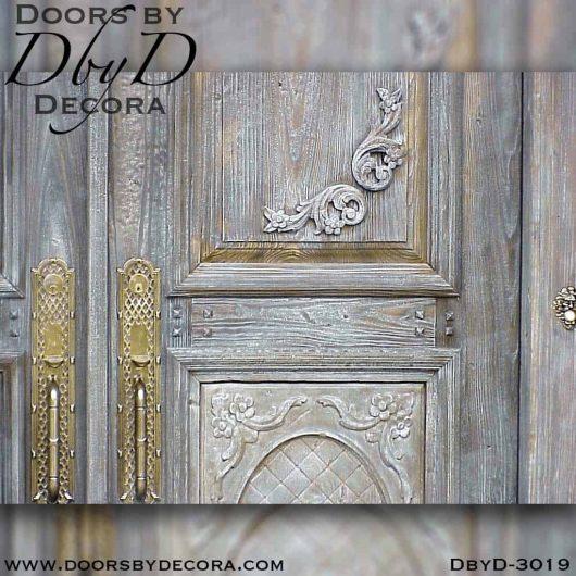 rustic tuscan style door