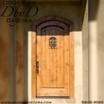 rustic speakeasy door