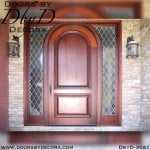 rustic solid door