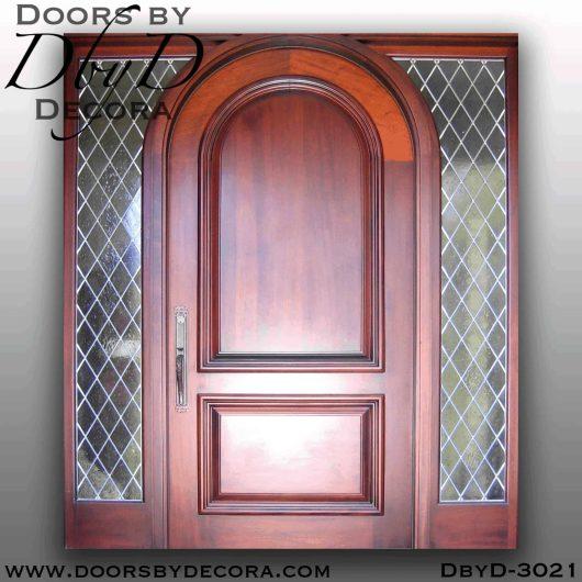 rustic solid door