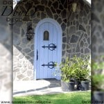 rustic cottage door