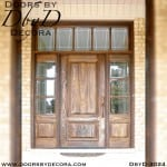 rustic TDL door