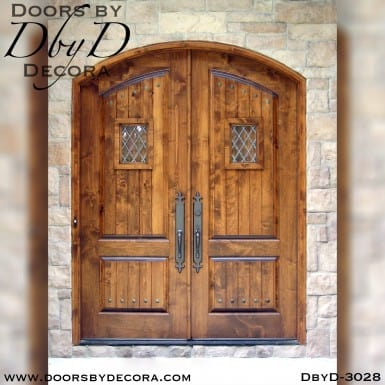 rustic double speakeasy doors