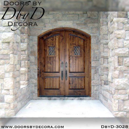 rustic double speakeasy doors