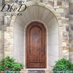 rustic speakeasy radius door