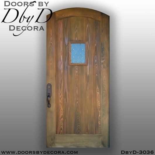 rustic distressed speakeasy door