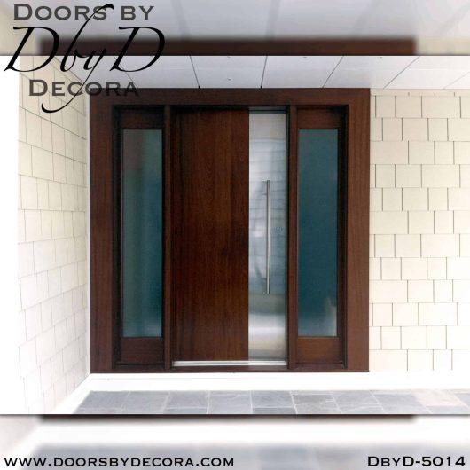 modern solid flush door