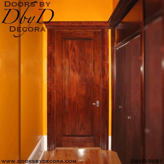 modern solid interior door