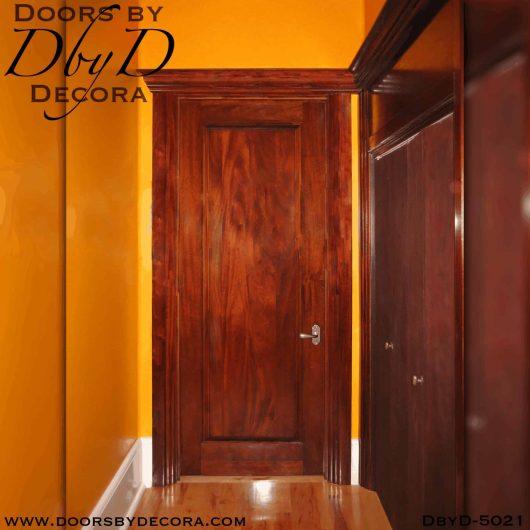 contemporary solid interior door