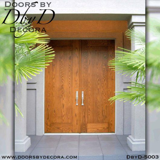 modern single panel doors