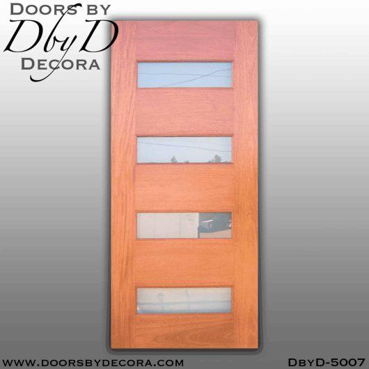 modern four lite door