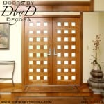 modern 24 lite double doors