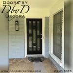 modern 7 lite door