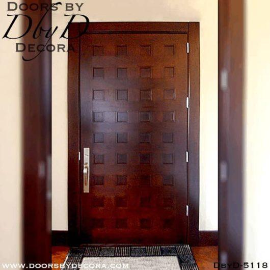 modern 36 panel cherry door modern 36 panel cherry door