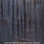 spanish cedar door stained with coffee bean stain