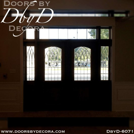 commercial double doors and sidelites