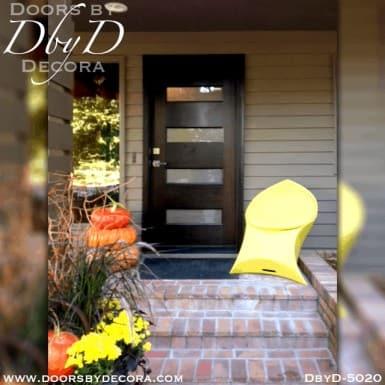 modern 4 lite door