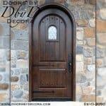 rustic radius speakeasy door