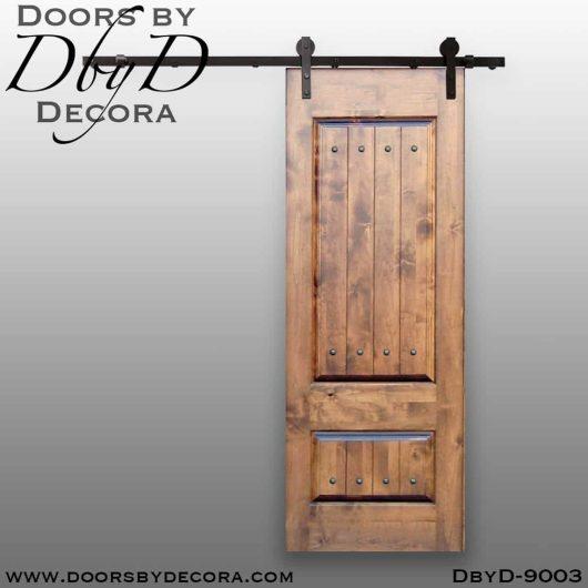 specialty interior wood barn door
