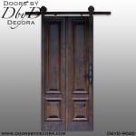 specialty 4-panel barn door