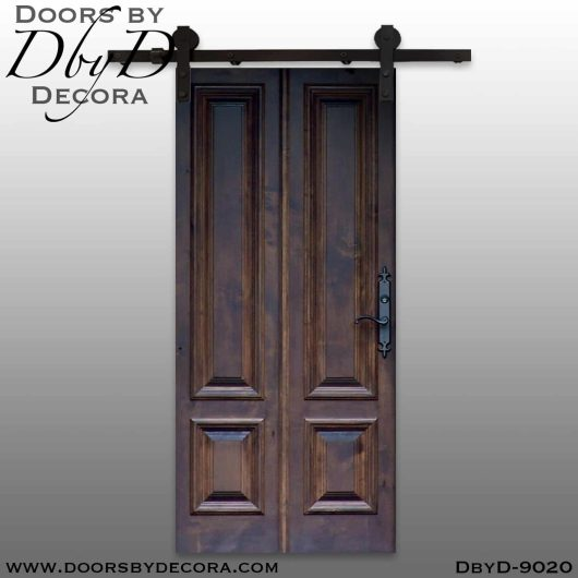 specialty 4-panel barn door