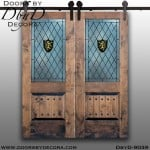 specialty pub interior barn doors