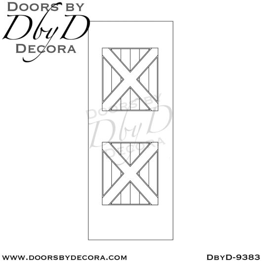 specialty cross buck barn door