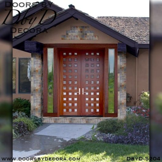 modern 33 lite double doors