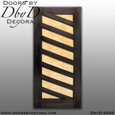 modern wood panel door