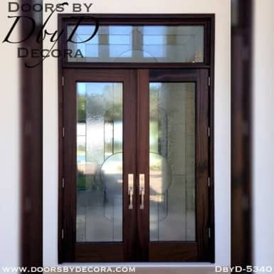 modern leaded glass front doors