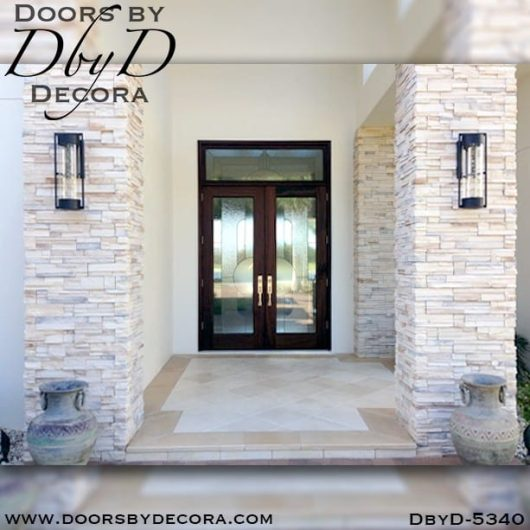 modern leaded glass front doors
